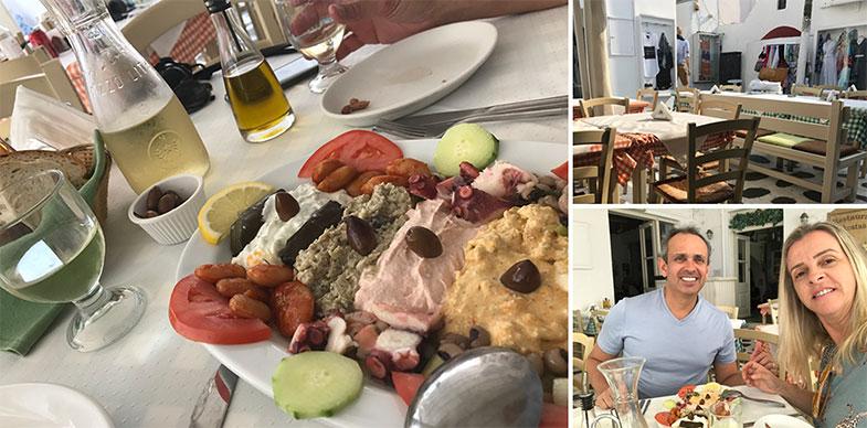 Culinária grega em Mykonos