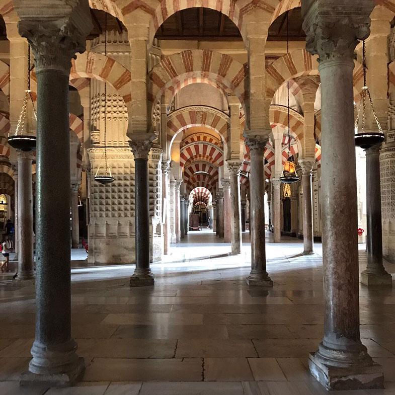 A maravilhosa Mesquita de Córdoba