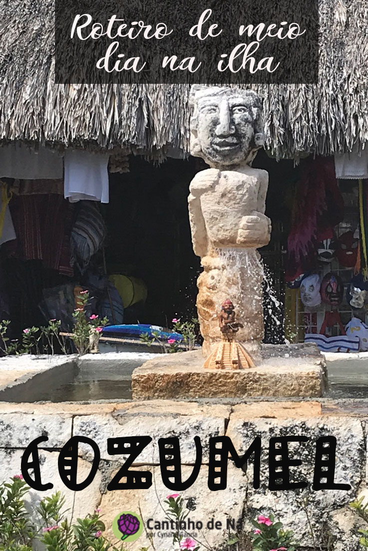 Como é a ilha de Cozumel no México