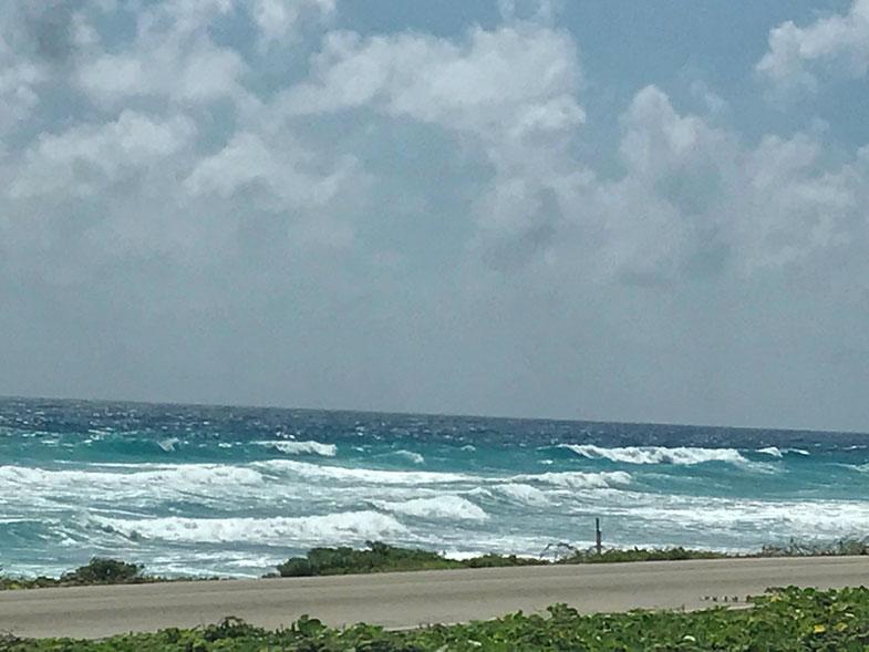 Mar de Cozumel no México