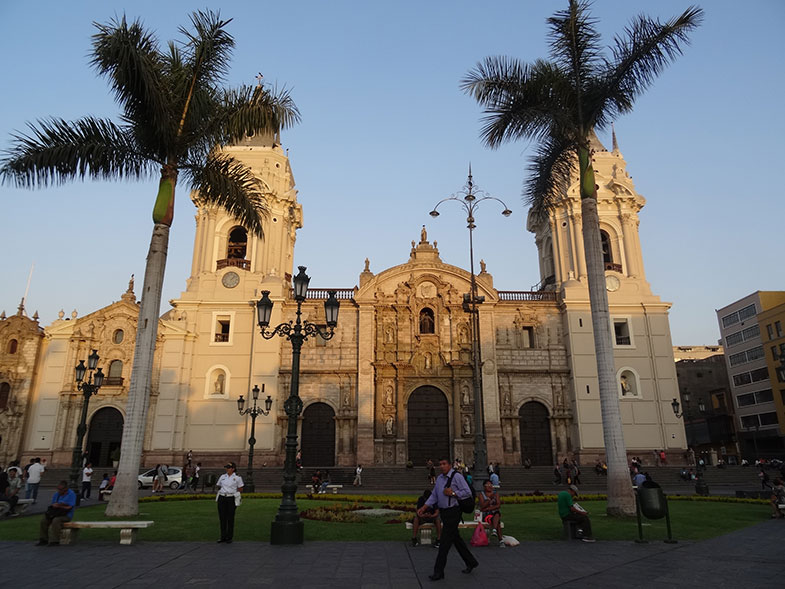 Conexão em Lima - Catedral