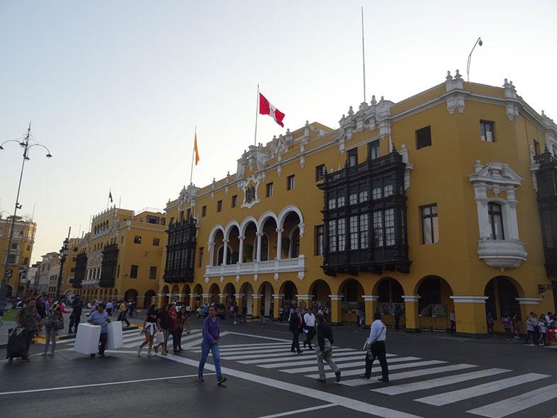 Conexão em Lima