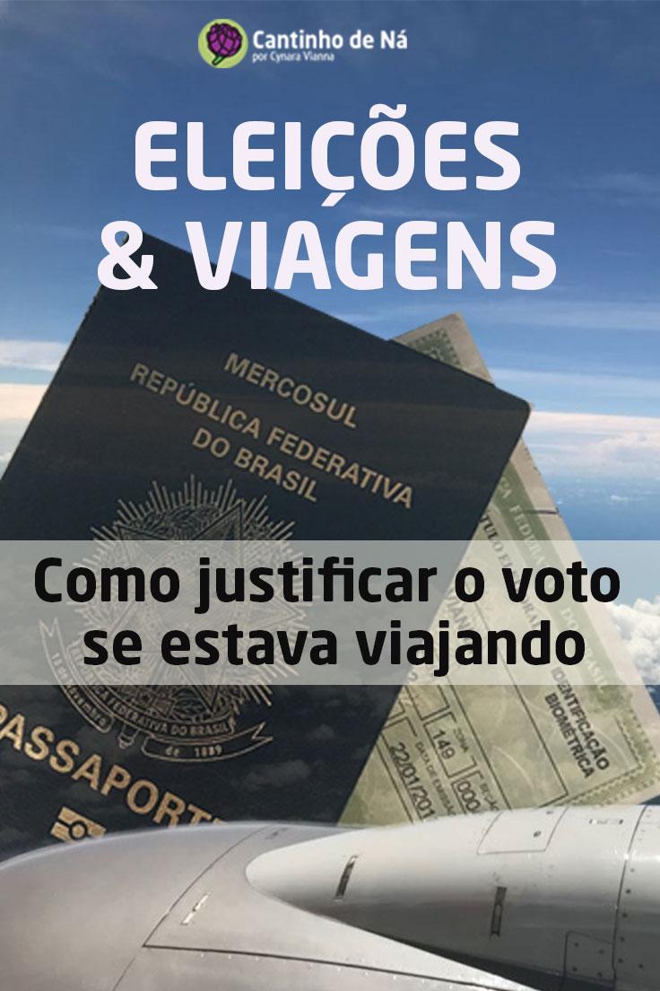 Como justificar o voto de estava viajando nas eleições