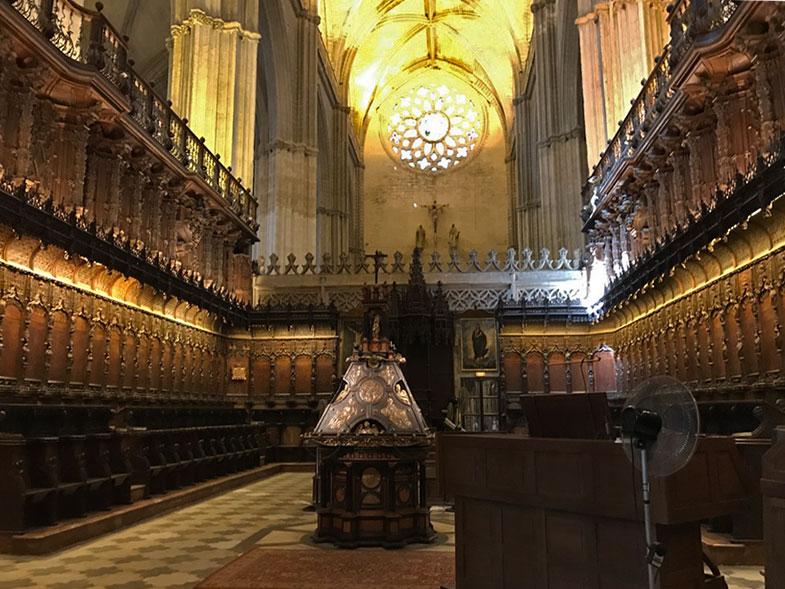 Coro da Catedral de Sevilha