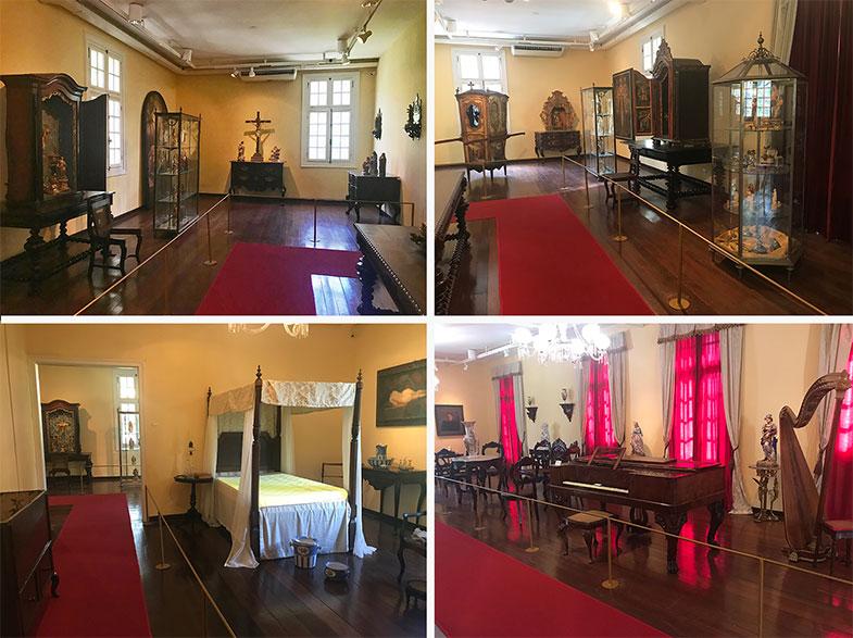 O casarão do Museu do Estado de Pernambuco