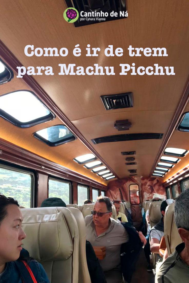 Como é viajar de trem para Machu Picchu