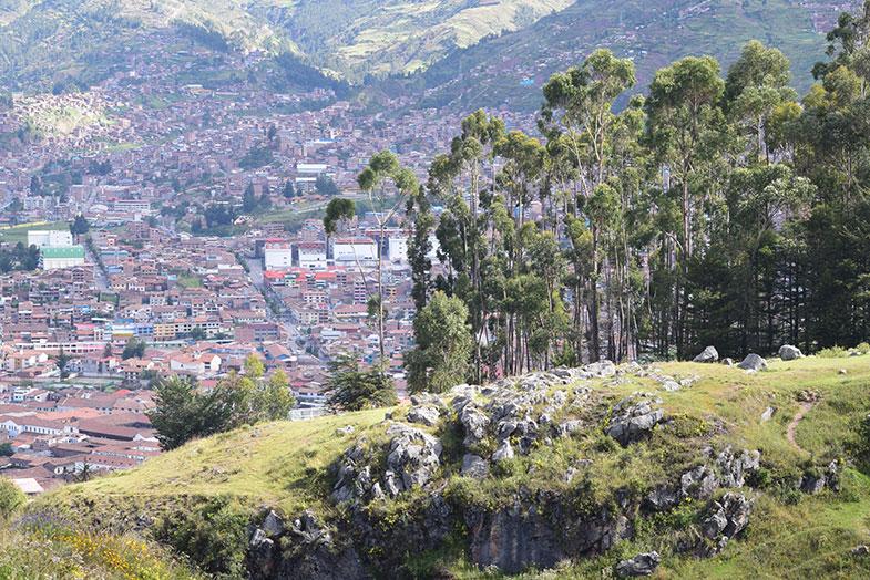 Cusco vista de Qenqo