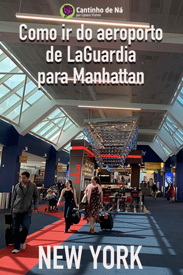 De LaGuardia para Manhattan como chegar