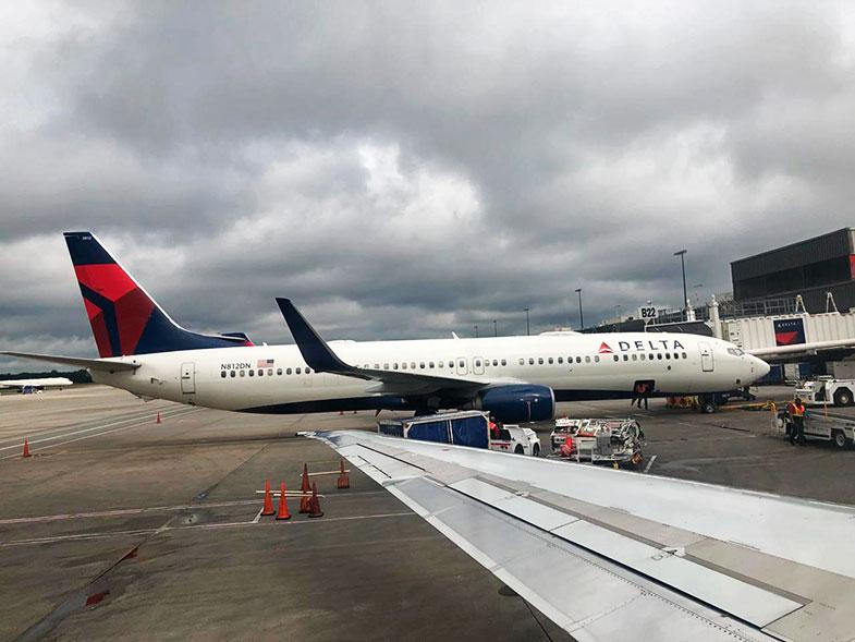 Avião Embraer da Delta