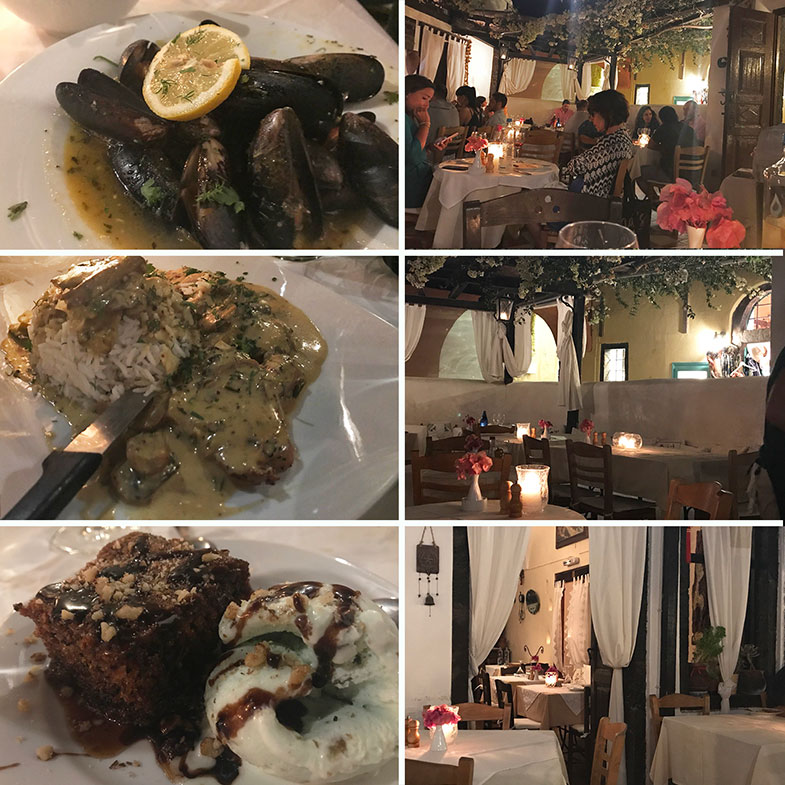 Onde comer em Santorini