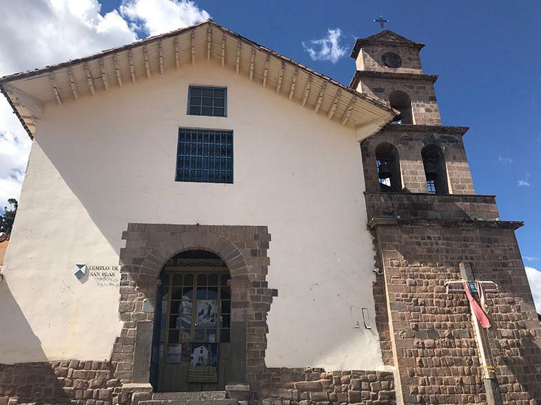 Igreja de San Blas em Cusco
