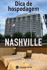 Nosso hotel em Nashville