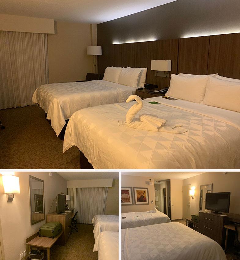 Quarto do hotel em Nashville