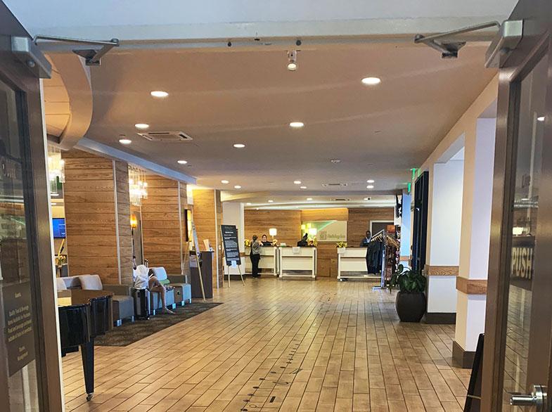 Lobby do hotel em Nashville