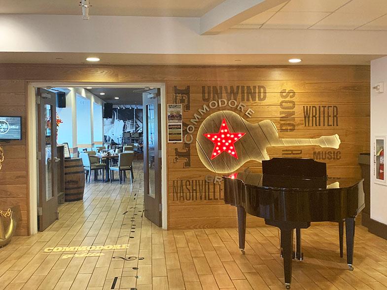 Restaurante do hotel em Nashville