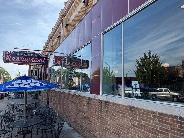 ONde comer em Memphis Arcade