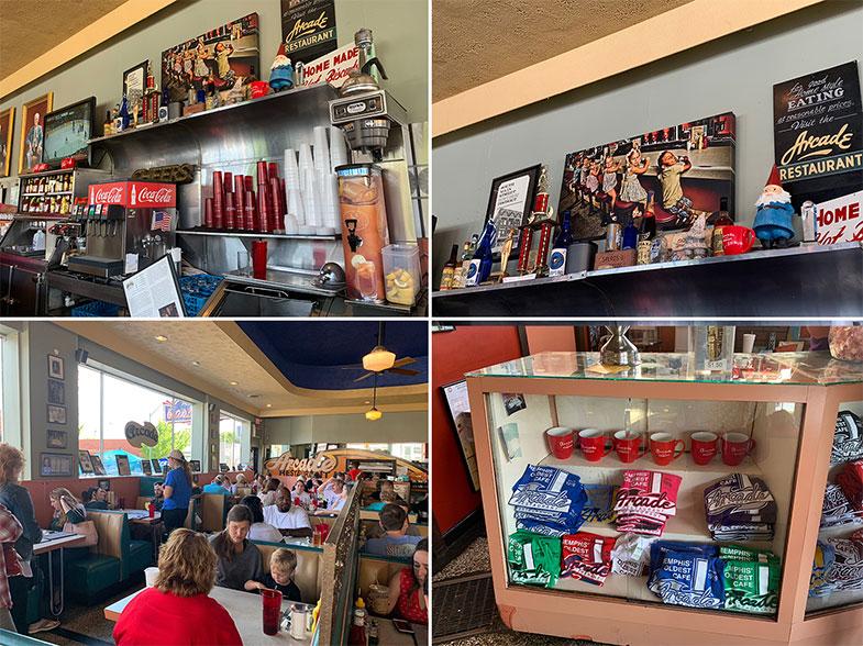 Onde comer em Memphis - Arcade Restaurant