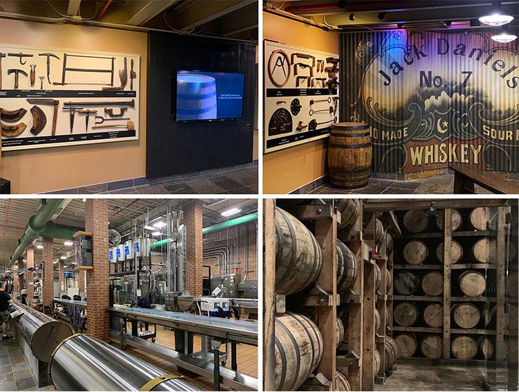 Visita à destilaria Jack Daniel's