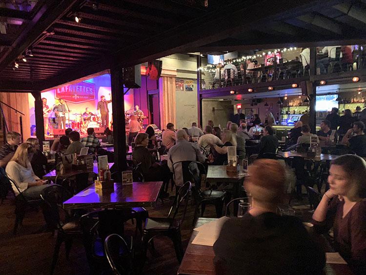 Lafayette's Bar em Memphis