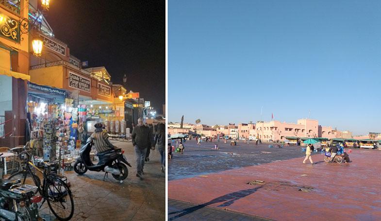 Praça em Marrakesh