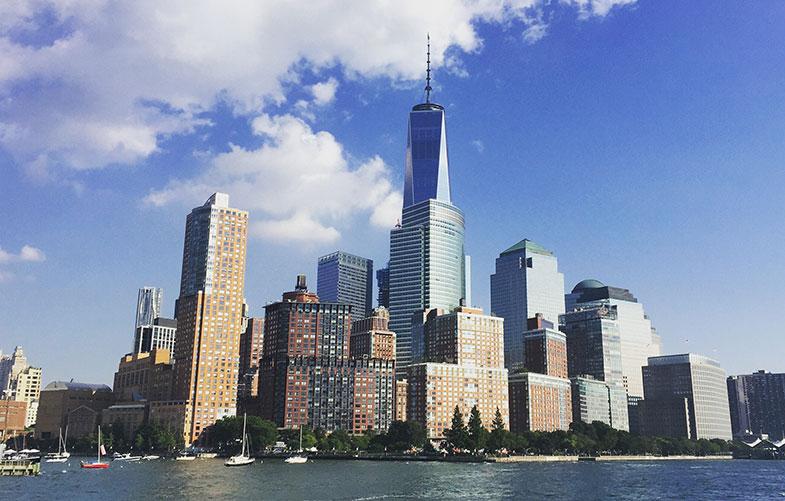 New York do alto do One World Observatory