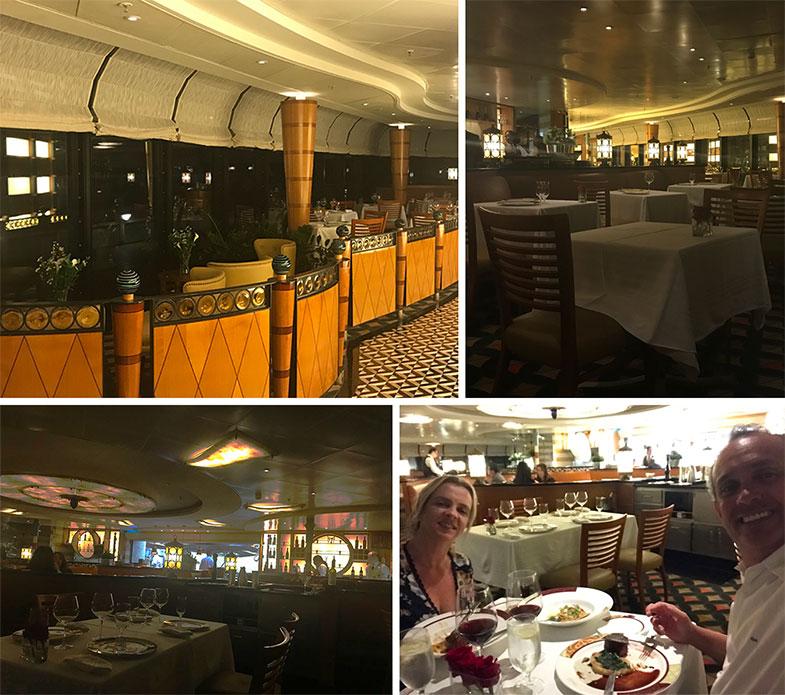 Restaurante Palo no Disney Wonder