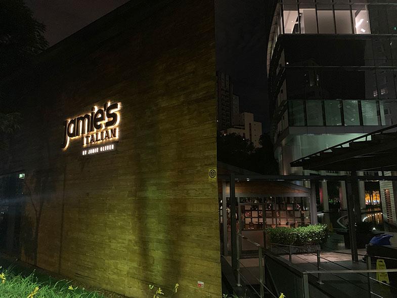 Restaurante de Jamie Oliver em São Paulo