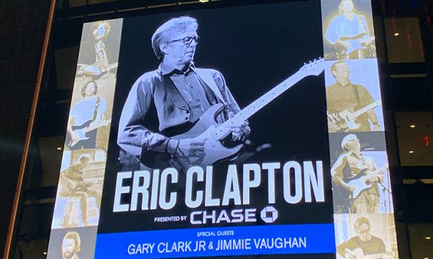 Eric Clapton em New York no Madison Square