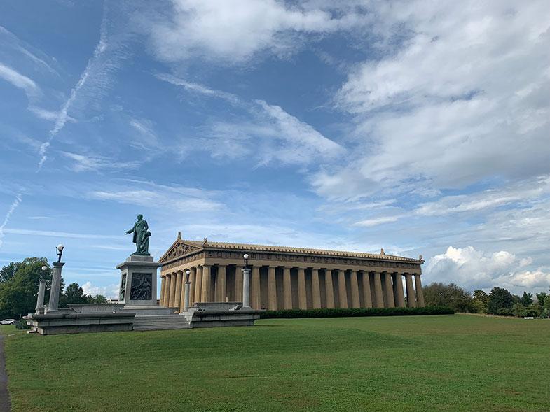 Parthenon em Nashville, a Atenas do Sul