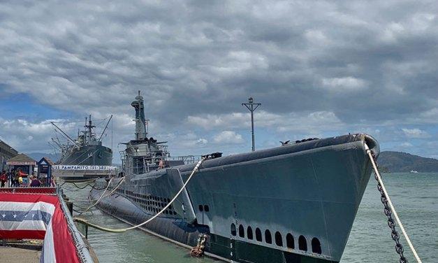 Submarino USS Pampanito em San Francisco