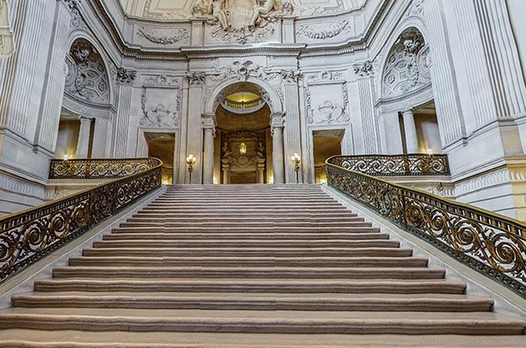 City Hall no Civic Center em San Francisco