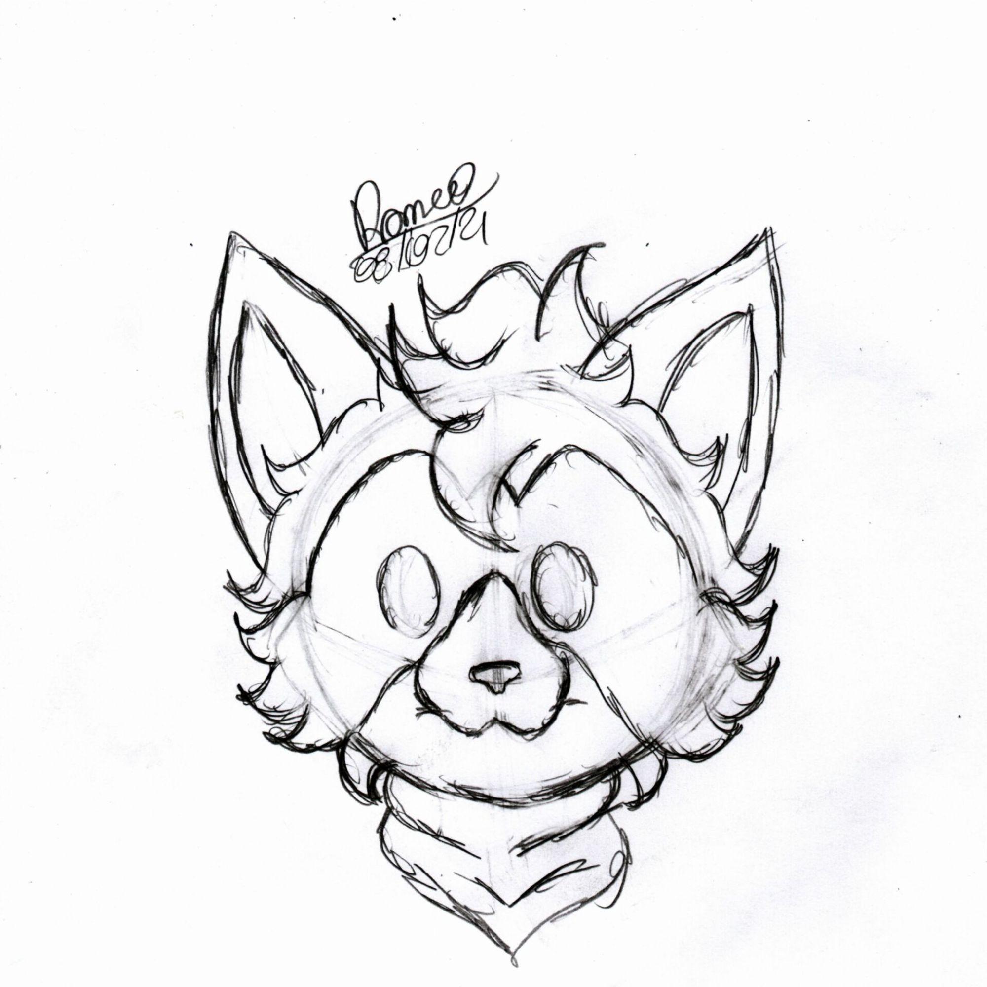 Apenas um desenho simples do Hideo