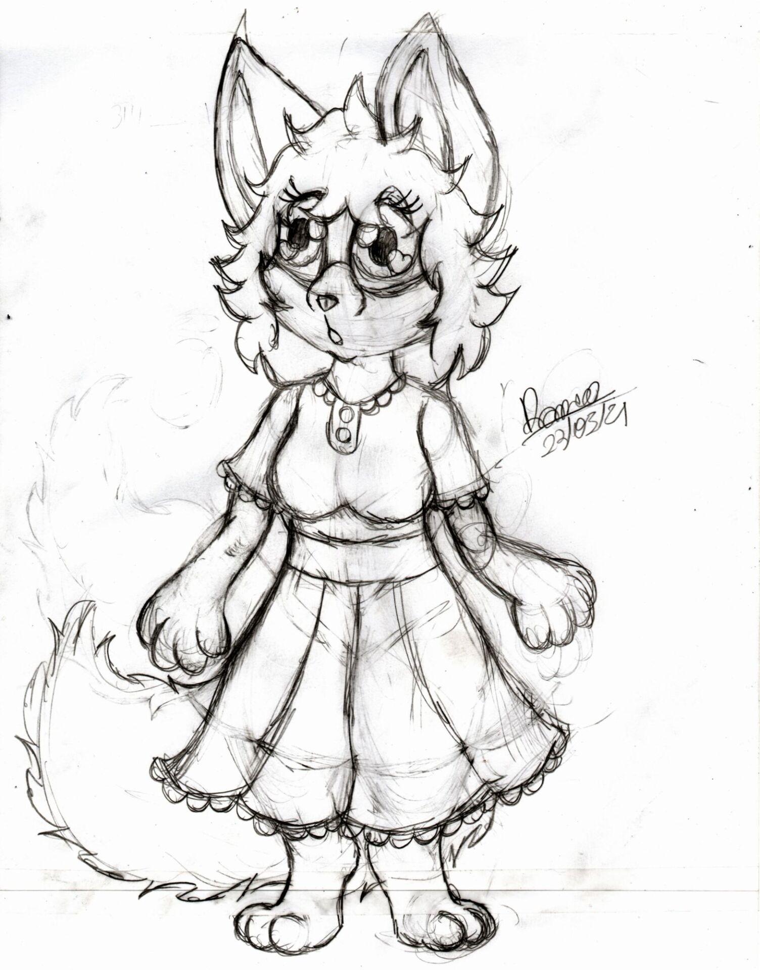 Desenho da Ruby