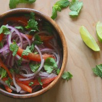 Onion-Tomato Salad