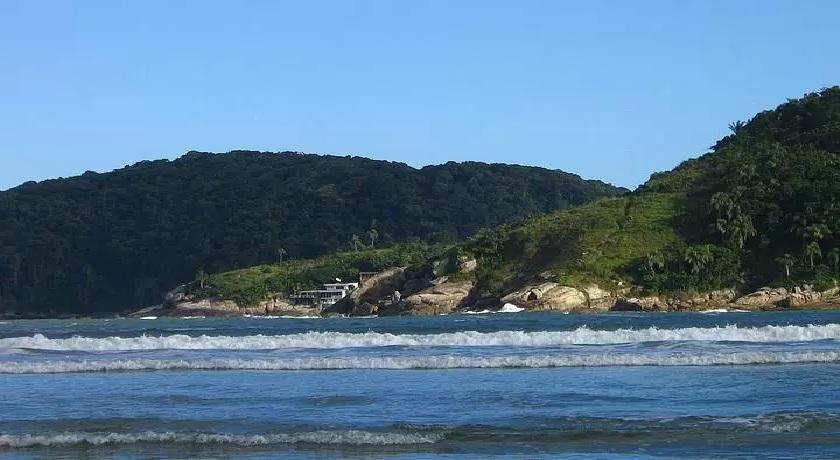 Praia de Pernambuco no Guarujá