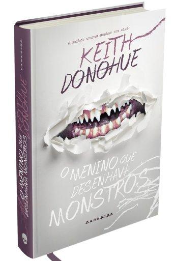 O menino que desenhava monstros - Keith Donohue - Darkside Books - Canto do Gargula - Capa