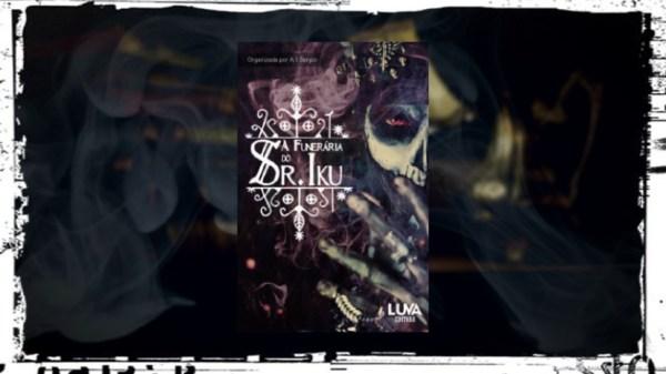 A funerária do Sr Iku - A T Sérgio - Luva Editora - Canto do Gárgula - Capa