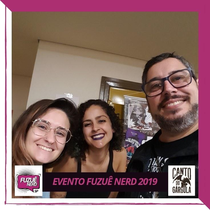 Fuzuê Nerd - Parceiros AVEC Editora - Diana Kalaf - Canto do Gárgula