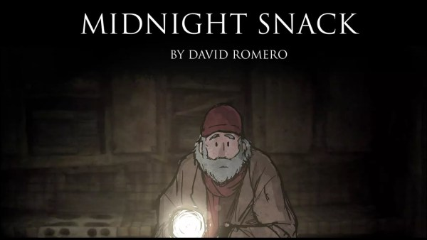 Midnight Snack - David Romero - Animação - Canto do Gárgula
