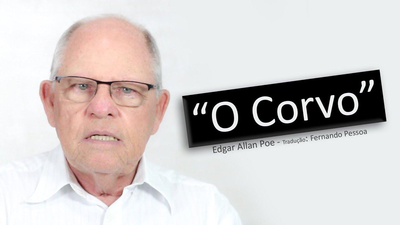 O Corvo - Edgar Allan Poe - Ator Silvio Matos - Canto do Gárgula