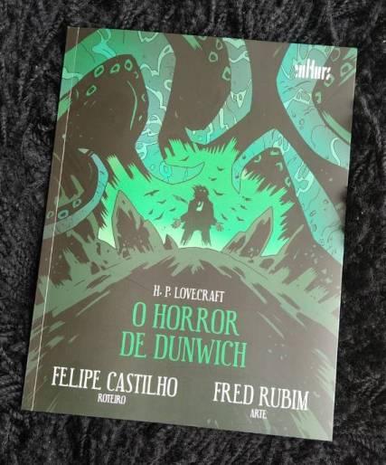 O Horror em Dunwich - H P Lovecraft - Felipe Castilho - Fred Rubim - De Cultura Editora - Canto do Gárgula
