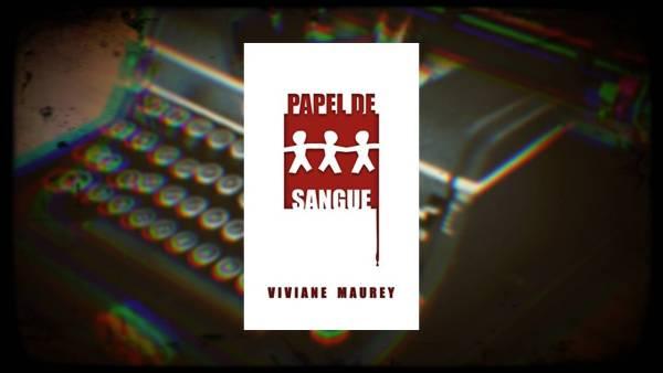 Papel de Sangue - Viviane Maurey - Canto do Gárgula