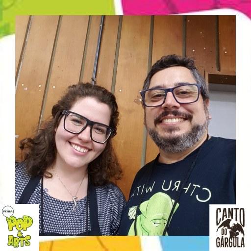 2a Feira Pop & Art 2020 - Joana Russo - Mythos Editora - Canto do Gárgula
