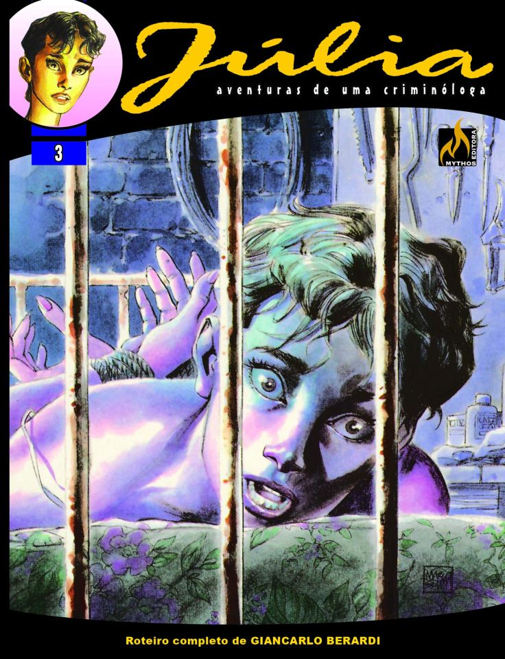 Júlia Vol 3 - Na Mente do Monstro - Mythos Editora - Canto do Gárgula