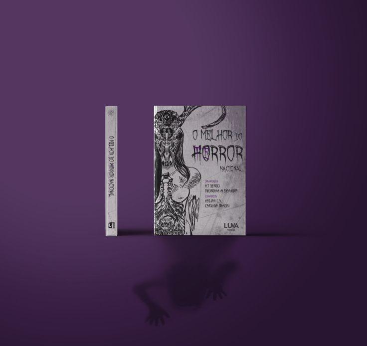 O Melhor do Te(ho)rror Nacional - Coletânea - Editora Luva - Canto do Gárgula