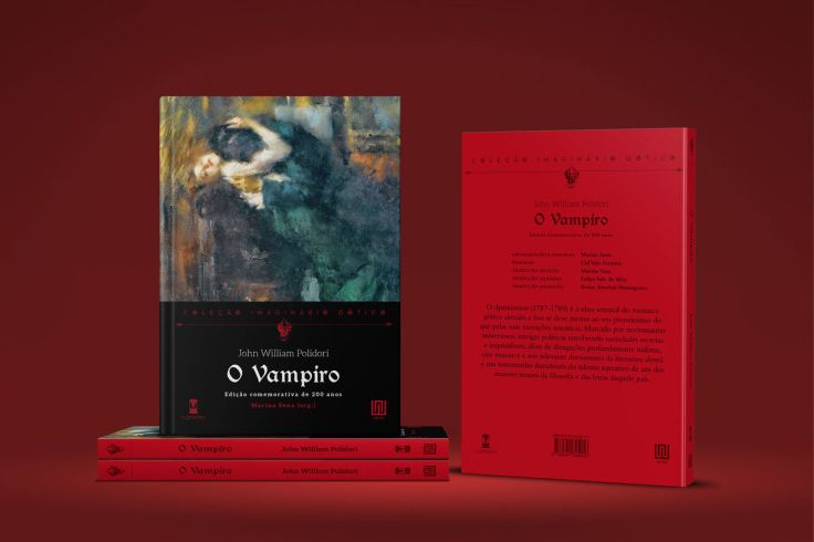 O Vampiro - John William Polidori - Sebo Clepsidra - Canto do Gárgula