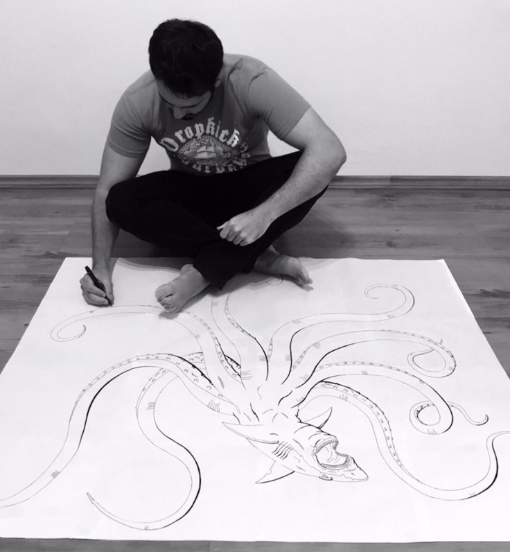 Caio Sales - Artista - Canto do Gárgula