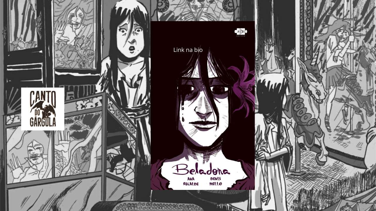 Beladona - Ana Recalde - Denis Mello - AVEC Editora - Canto do Gárgula