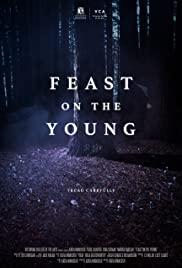 Poster do curta-metragem com uma floresta sinistra ao fundo.