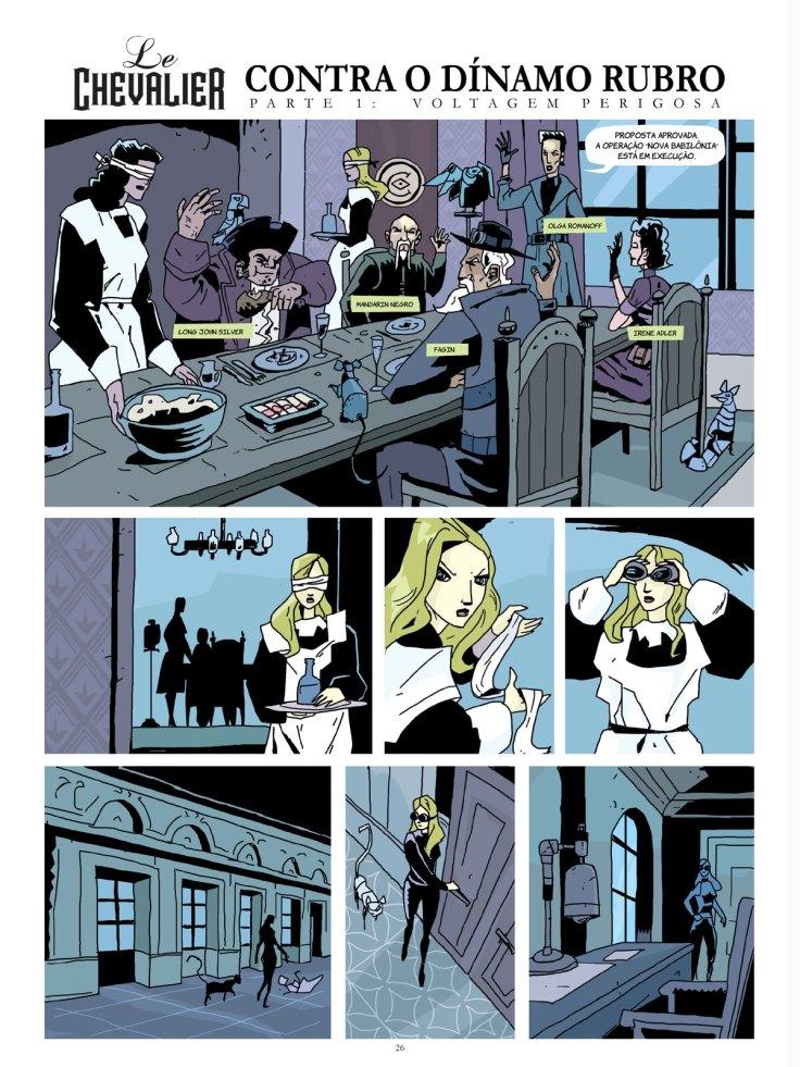 Le Chevalier Arquivos Secretos vol 1 - A Z Cordenonsi - Fred Rubim - AVEC Editora - Canto do Gárgula